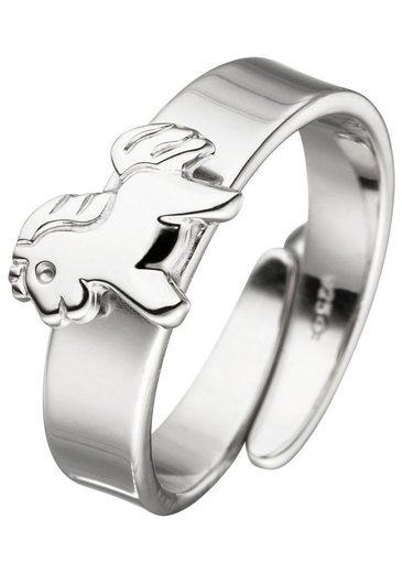 JOBO Silberring »Pferd«, 925 Silber
