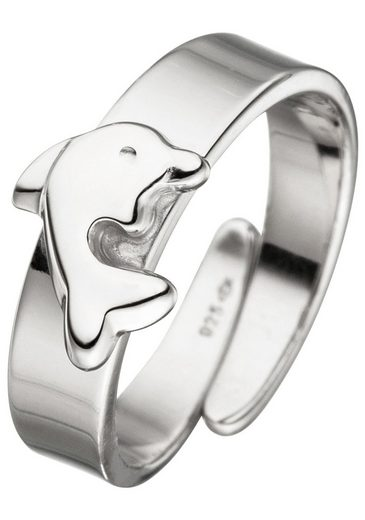 JOBO Silberring »Delfin«, 925 Silber