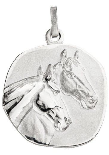 JOBO Kettenanhänger »Pferdeköpfe«, 925 Silber