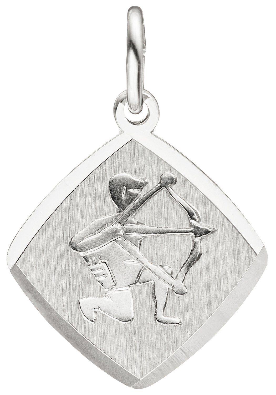 JOBO Sternzeichenanhänger Sternzeichen Schütze 925 Silber