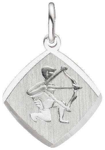 JOBO Sternzeichenanhänger, Sternzeichen Schütze 925 Silber
