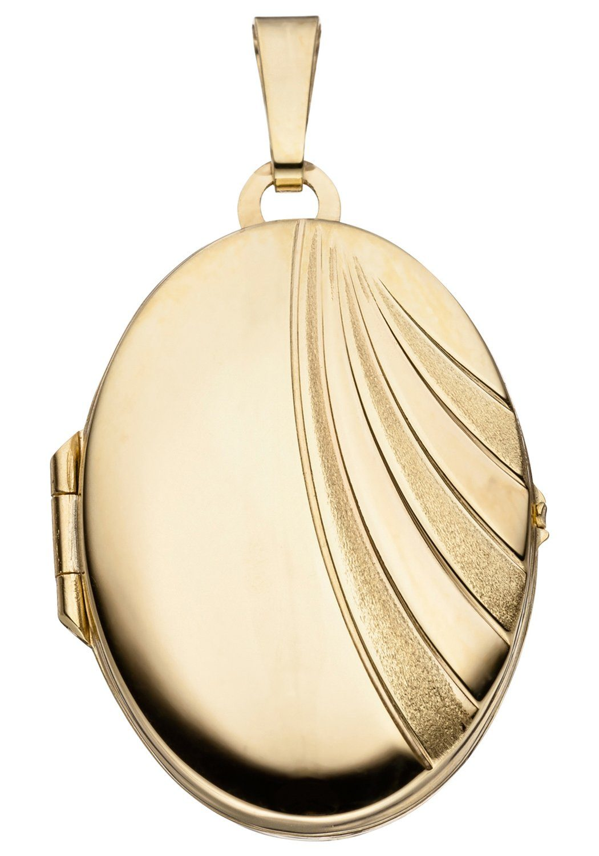 333 Kaufen Oval Jobo Gold Online Medallionanhänger dCtQshr
