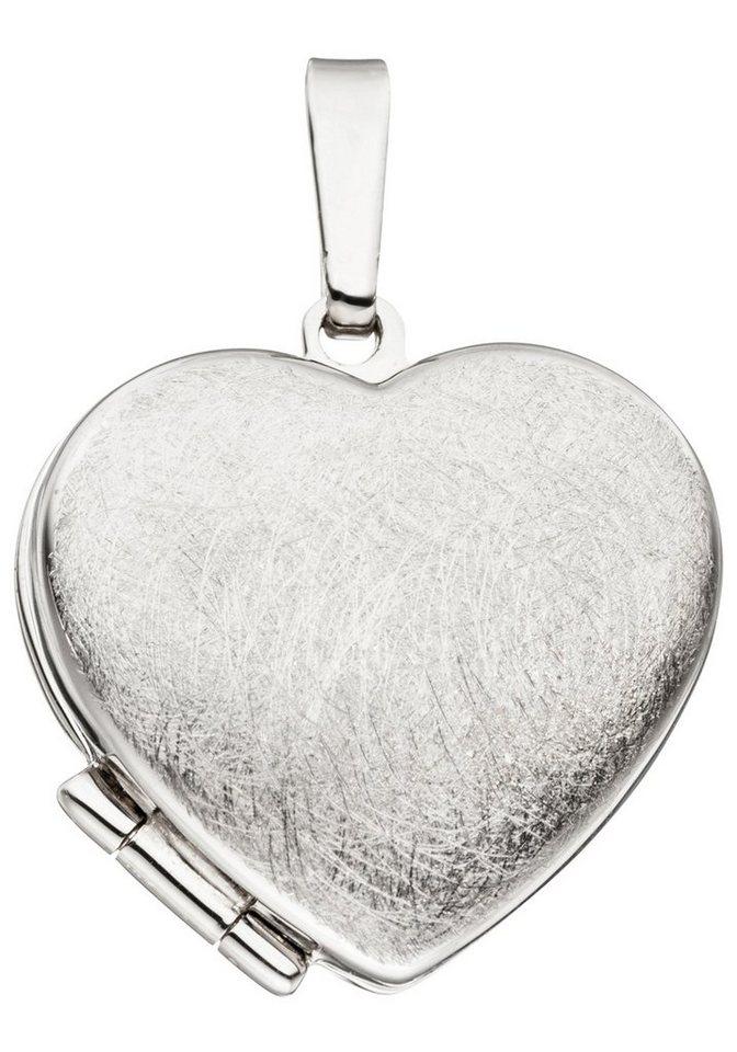 JOBO Medallionanhänger Herz 925 Silber | Schmuck > Halsketten > Herzketten | JOBO