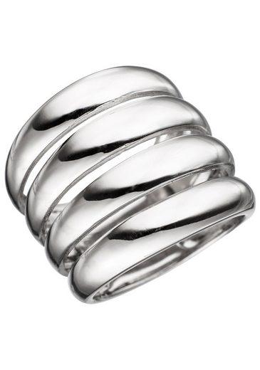JOBO Silberring, breit 925 Silber