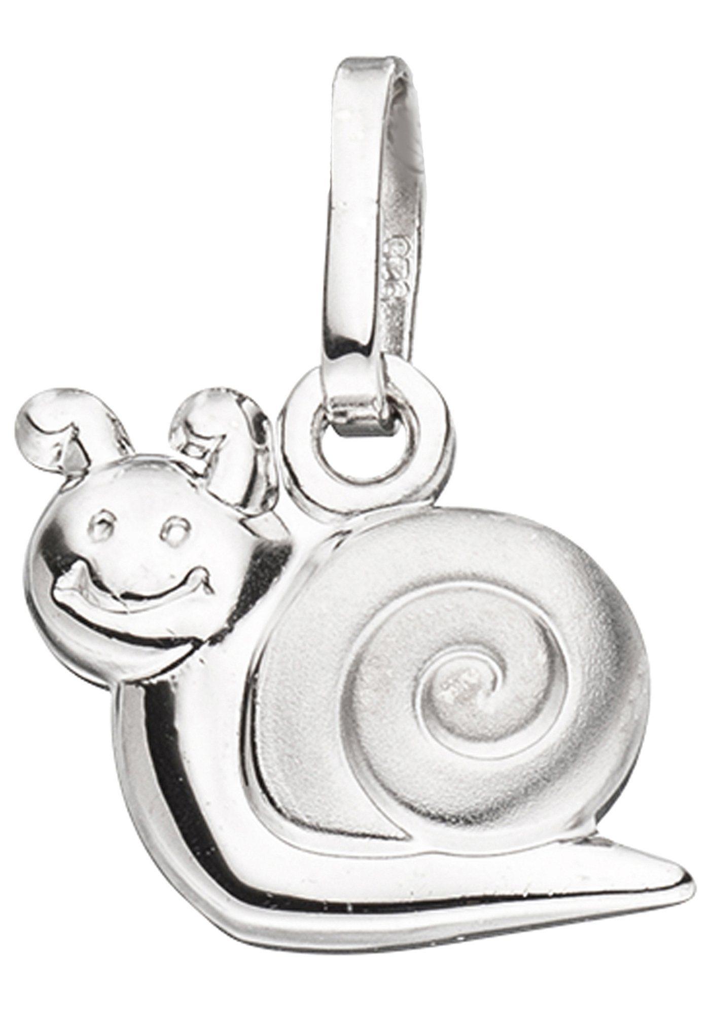 JOBO Kettenanhänger »Schnecke« 925 Silber