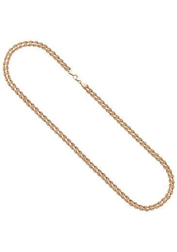 JOBO Goldkette, 375 Roségold 45 cm
