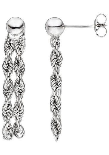 JOBO Paar Ohrhänger, 375 Weißgold