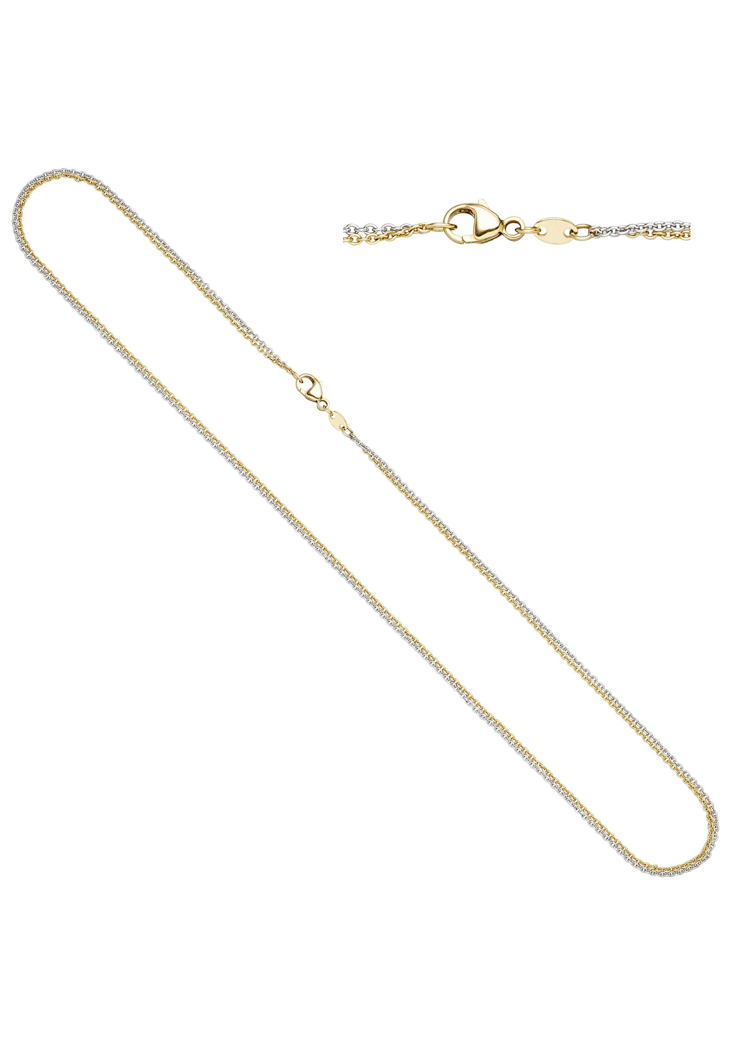 JOBO Goldkette 585 Gold bicolor 42 cm