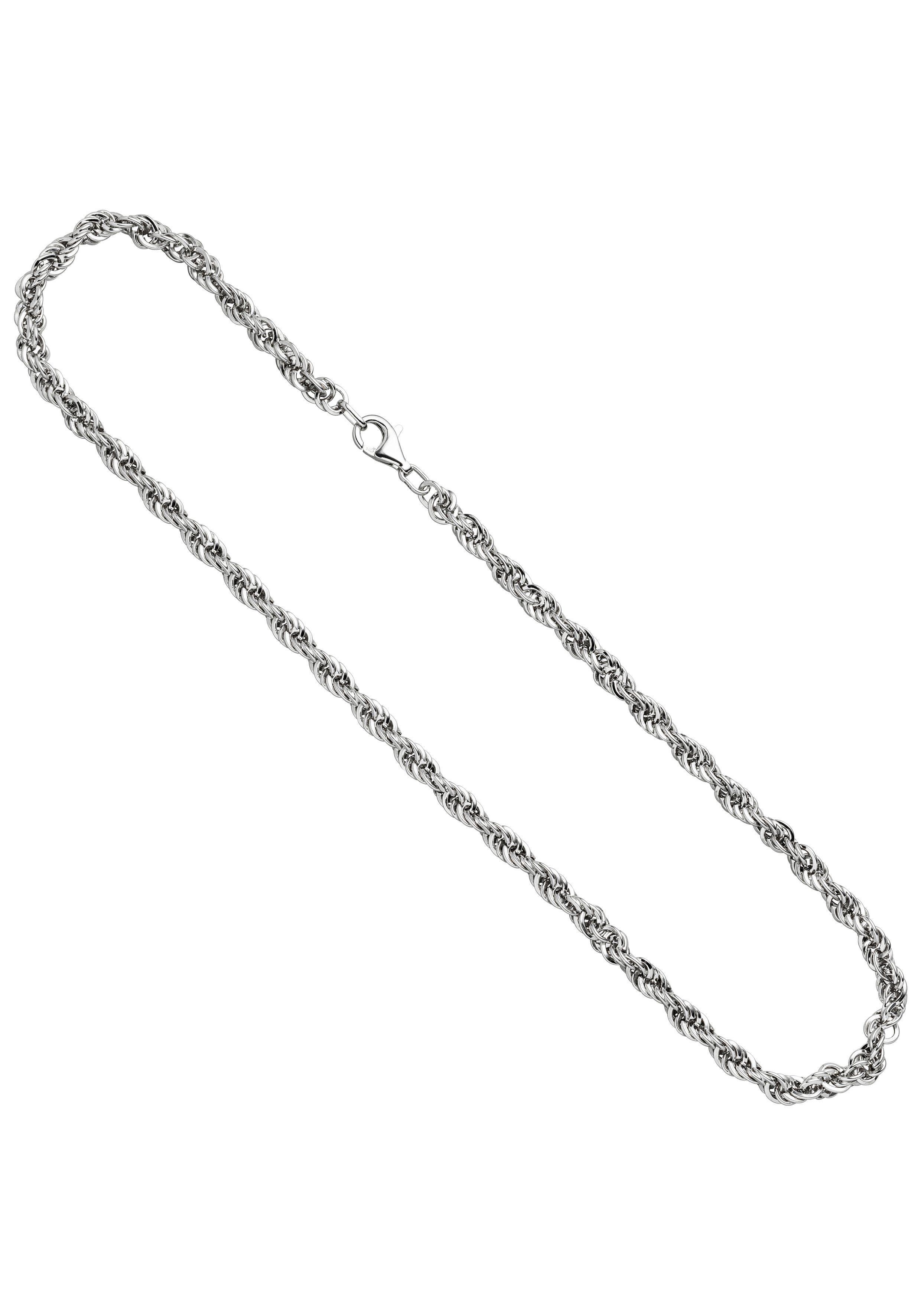 JOBO Silberkette Kordelkette 925 Silber 50 cm