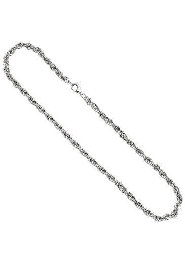 JOBO Silberkette, Kordelkette 925 Silber 50 cm