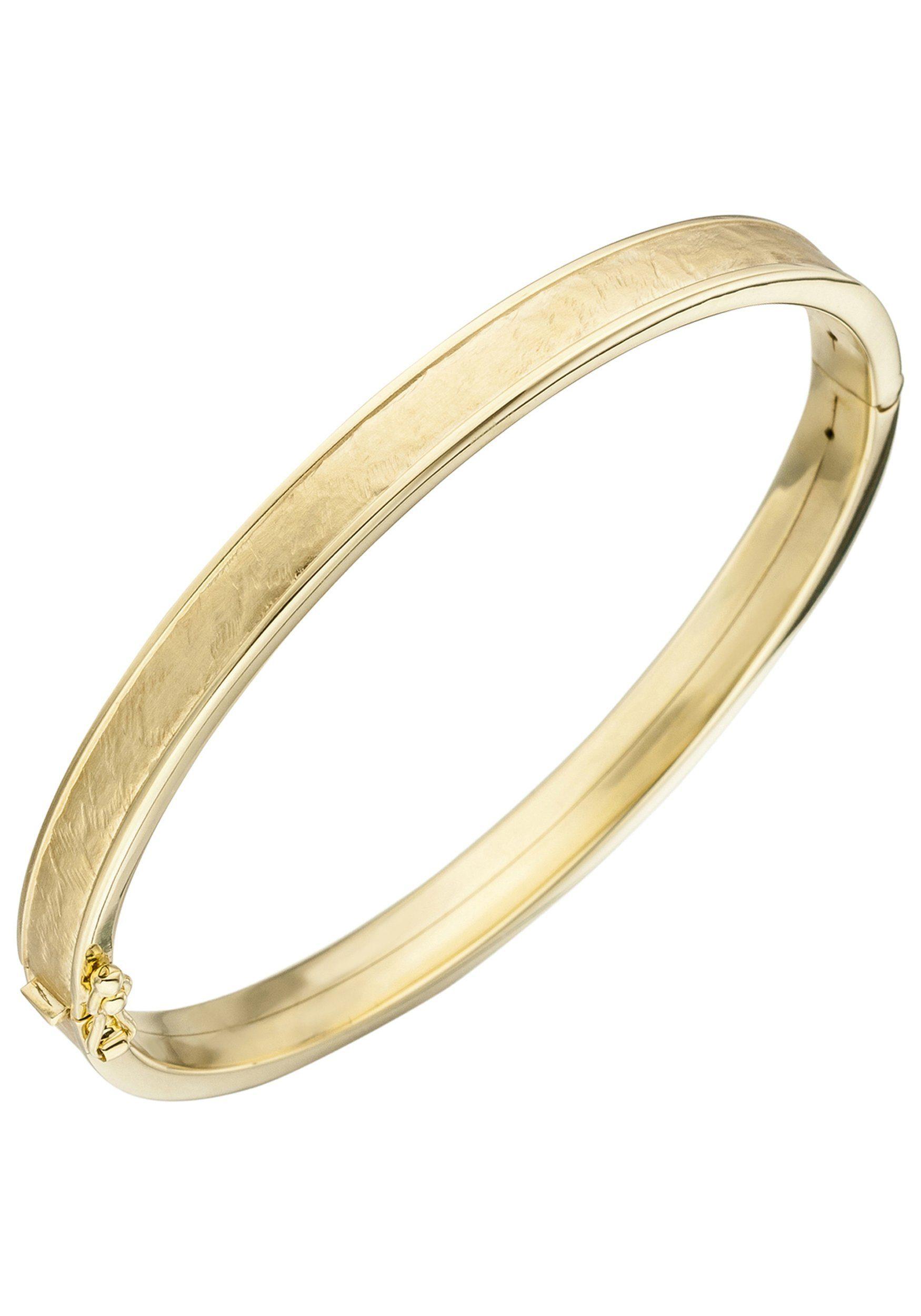 JOBO Armreif oval 375 Gold