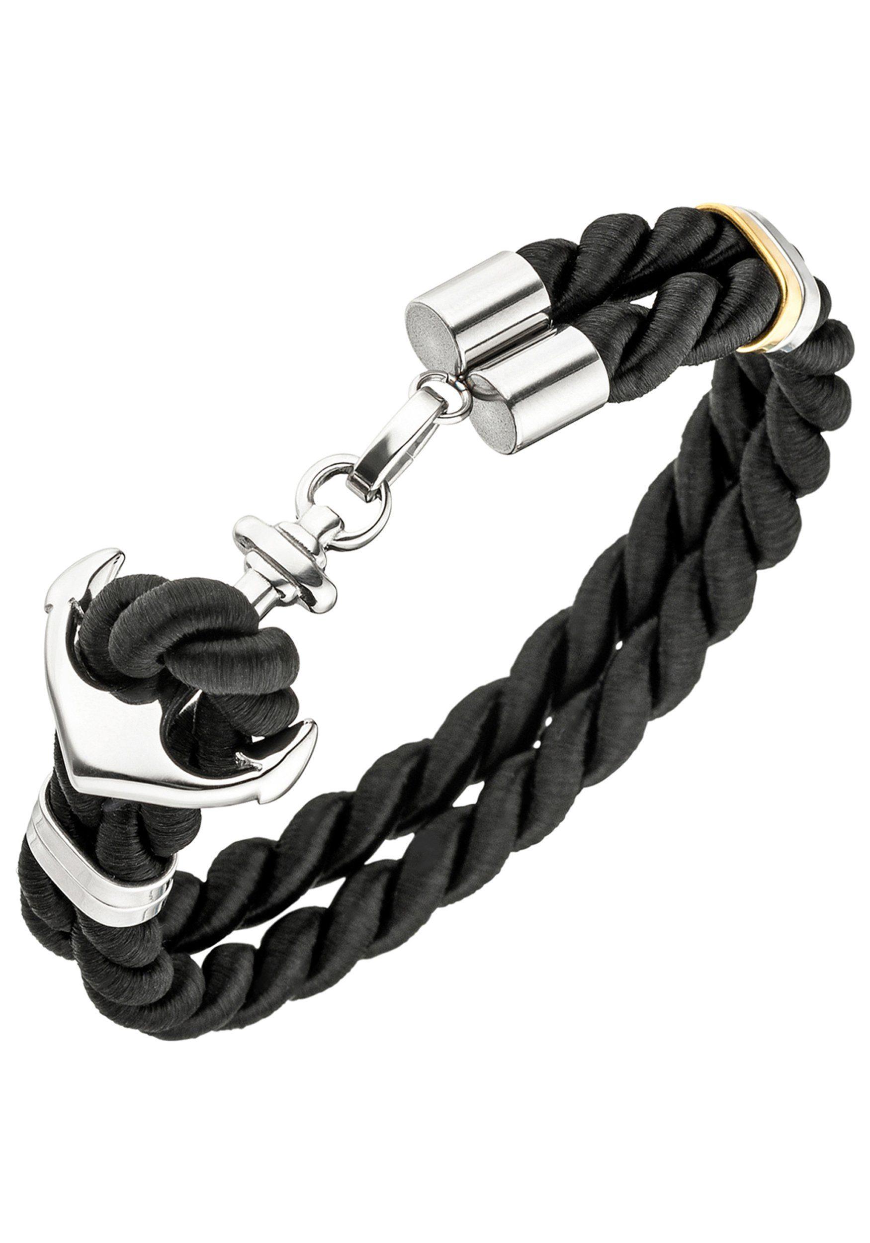 JOBO Armband »Anker« Edelstahl