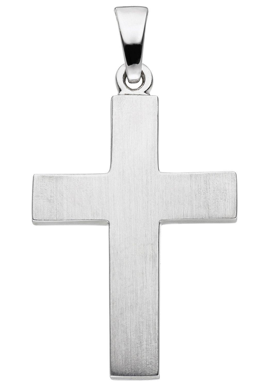 JOBO Kreuzanhänger »Kreuz« Kreuz 925 Silber