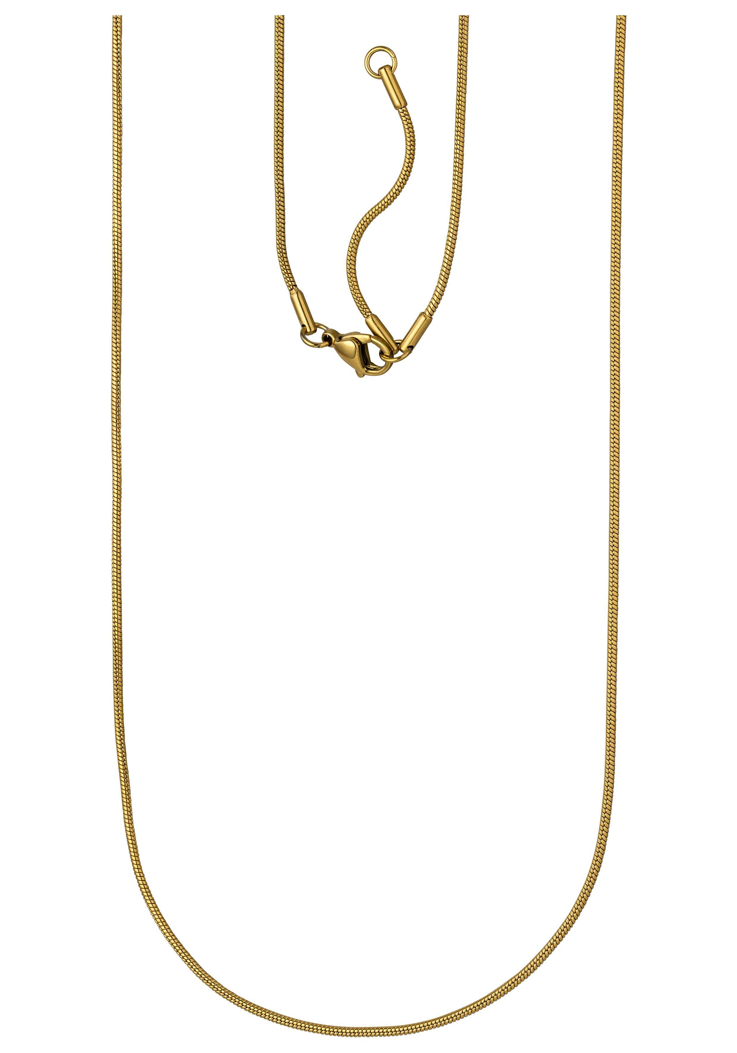 JOBO Edelstahlkette, Schlangenkette Edelstahl 80 cm 1,5 mm online kaufen | OTTO