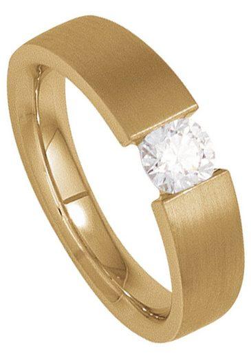JOBO Solitärring 585 Gold mit Diamant 0,20 ct.