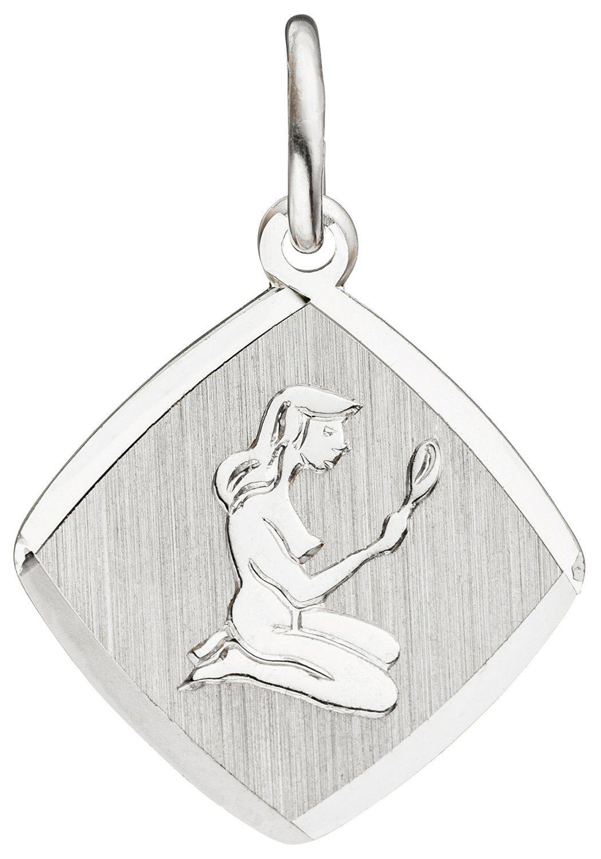 JOBO Sternzeichenanhänger Sternzeichen Jungfrau 925 Silber