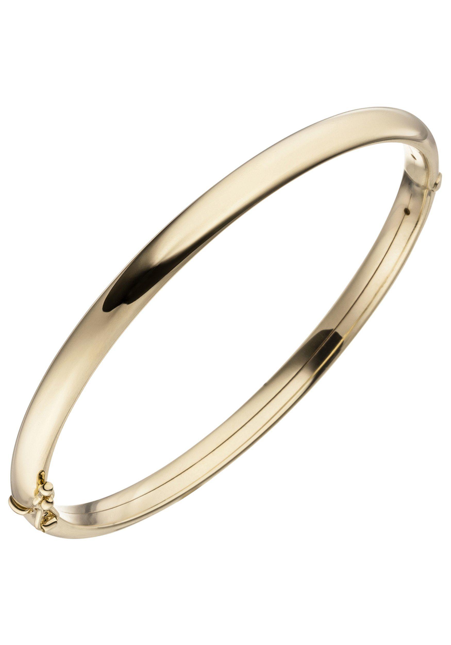 JOBO Armreif »Oval« oval 375 Gold
