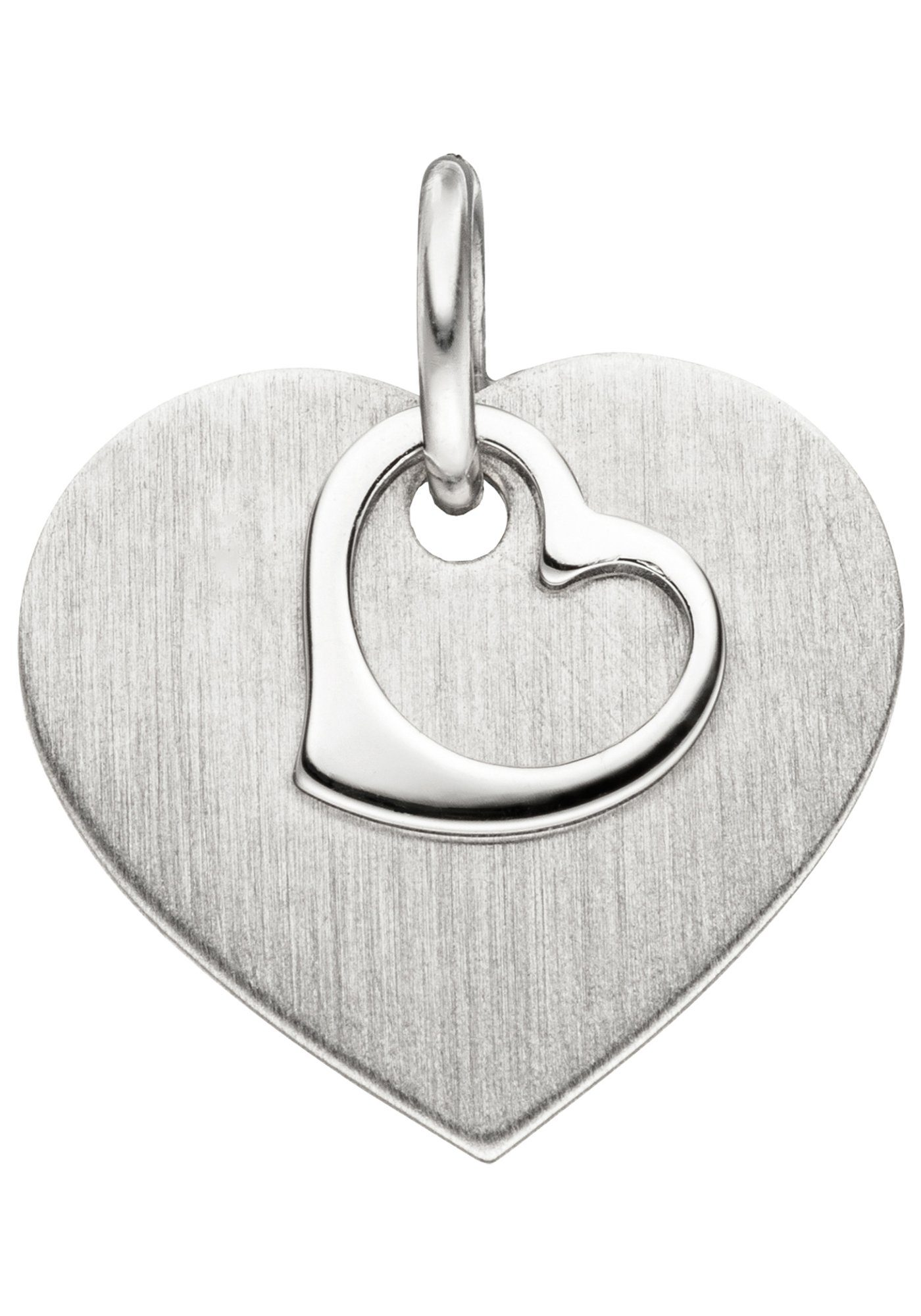 JOBO Herzanhänger »Herz« 925 Silber