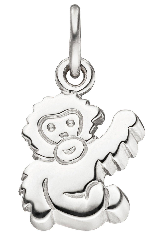 JOBO Kettenanhänger »Affe« 925 Silber