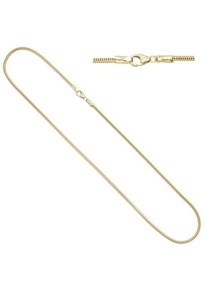 jobo goldkette schlangenkette 585 gold 42 cm 1 9 mm online. Black Bedroom Furniture Sets. Home Design Ideas
