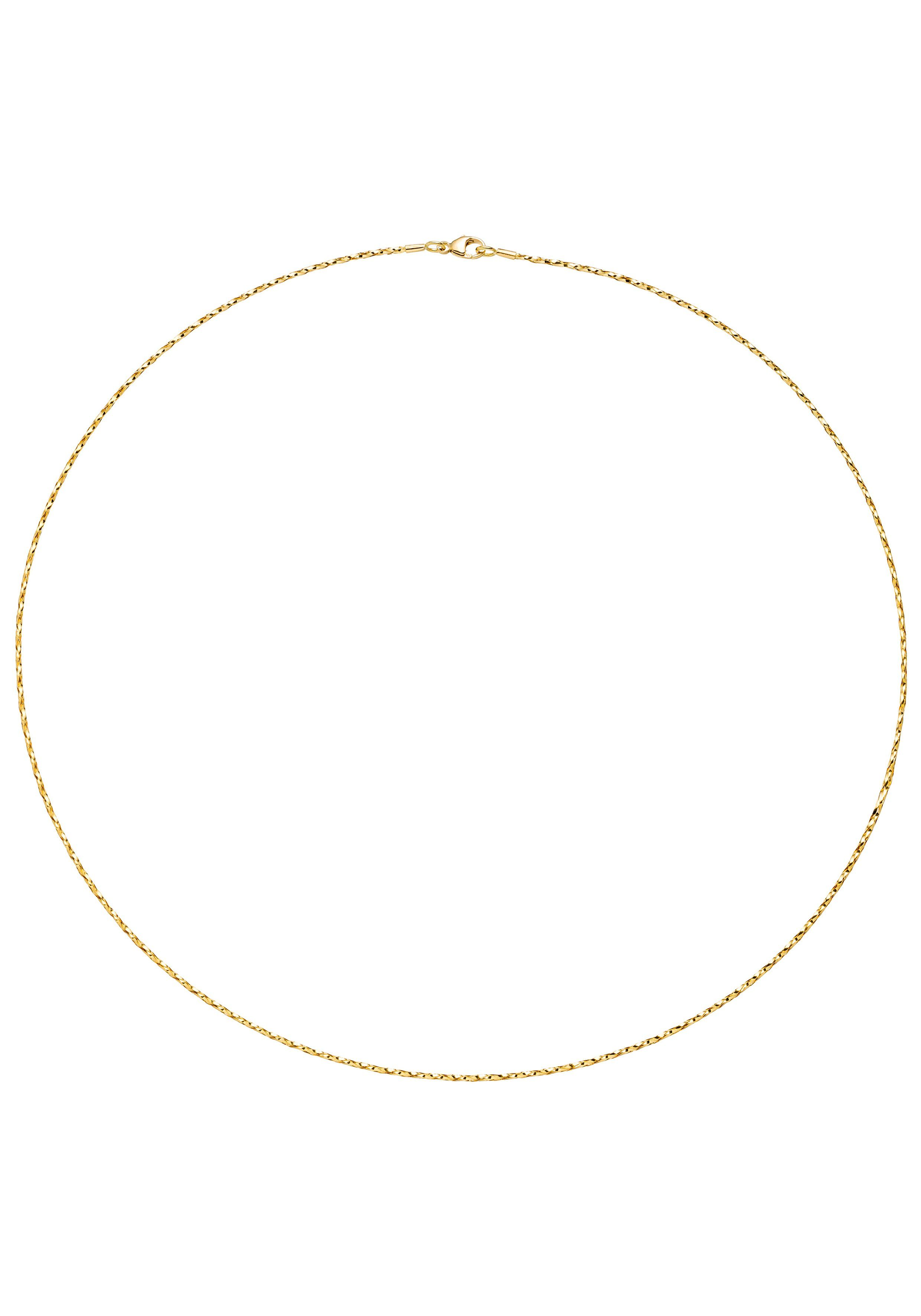 JOBO Collier 750 Gold diamantiert 42 cm 1,0 mm