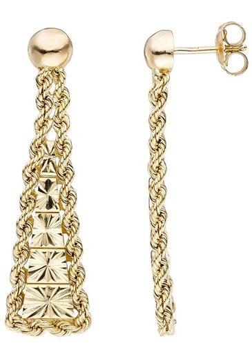 JOBO Paar Ohrhänger, 585 Gold