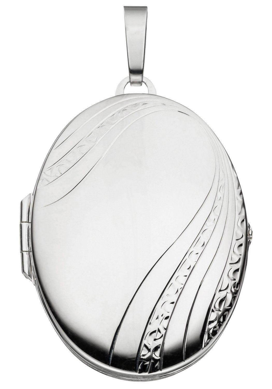 JOBO Medallionanhänger oval 925 Silber