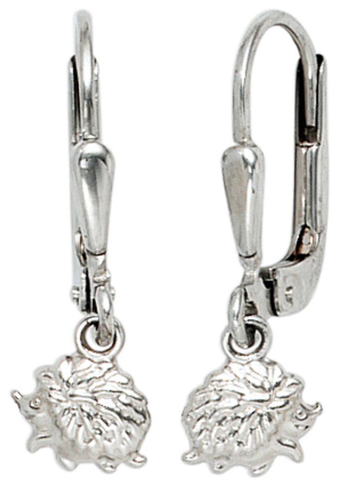 JOBO Paar Ohrhänger »Igel« 925 Silber