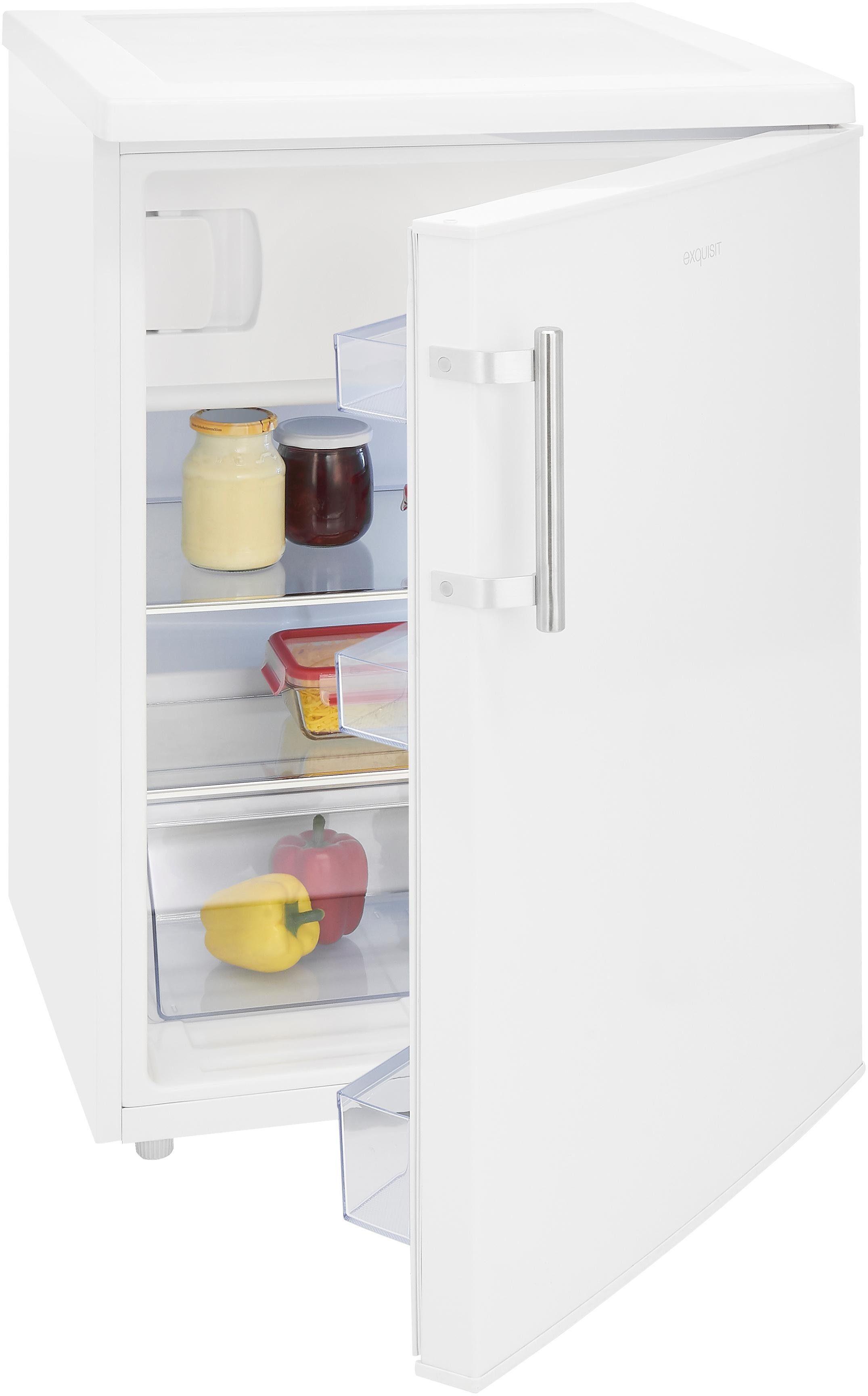 Exquisit Kühlschrank KS18-17A+++, 85 cm hoch, 60 cm breit