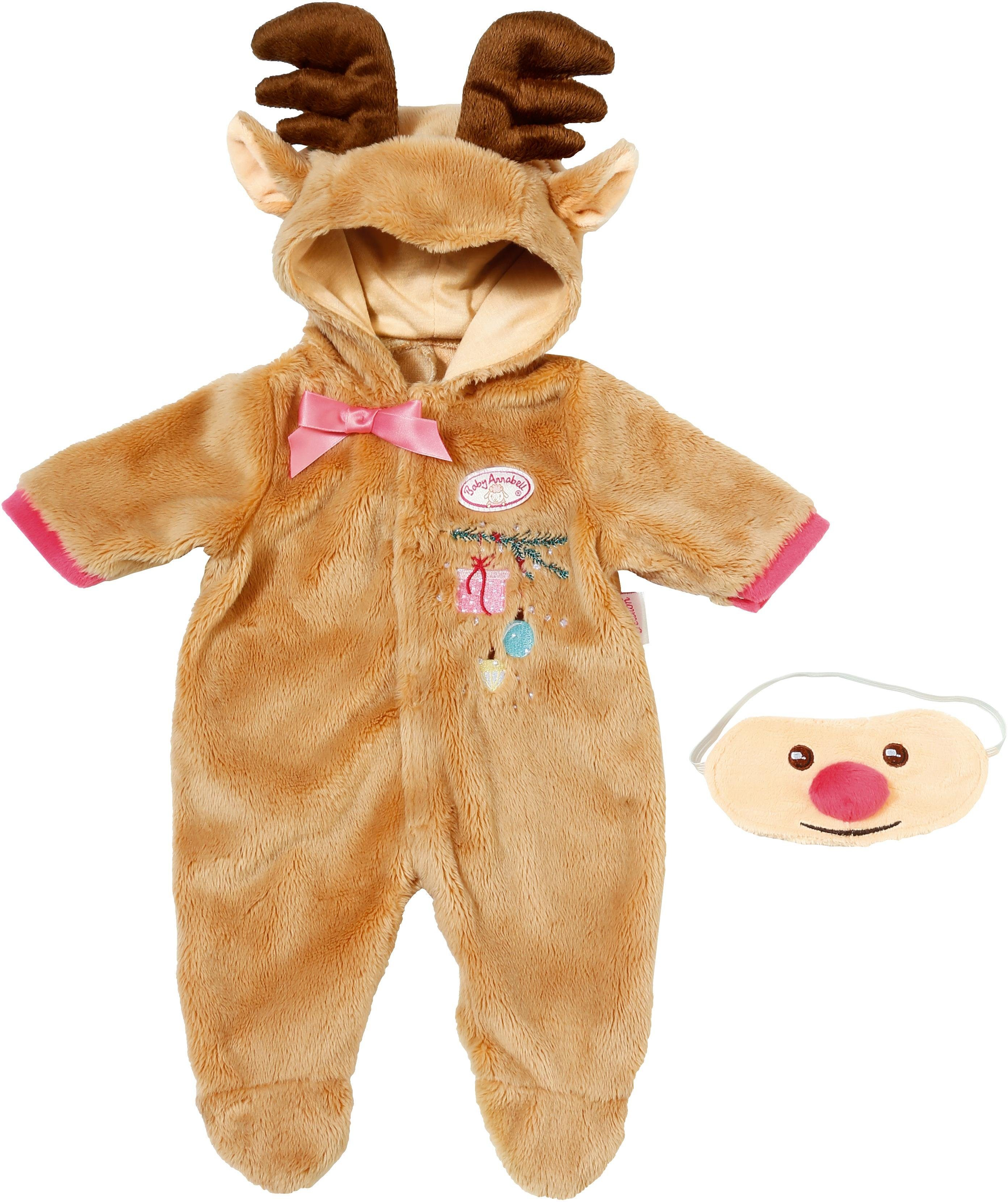 Zapf Creation Puppenkleidung, »Baby Annabell® Deluxe Rentier Set«