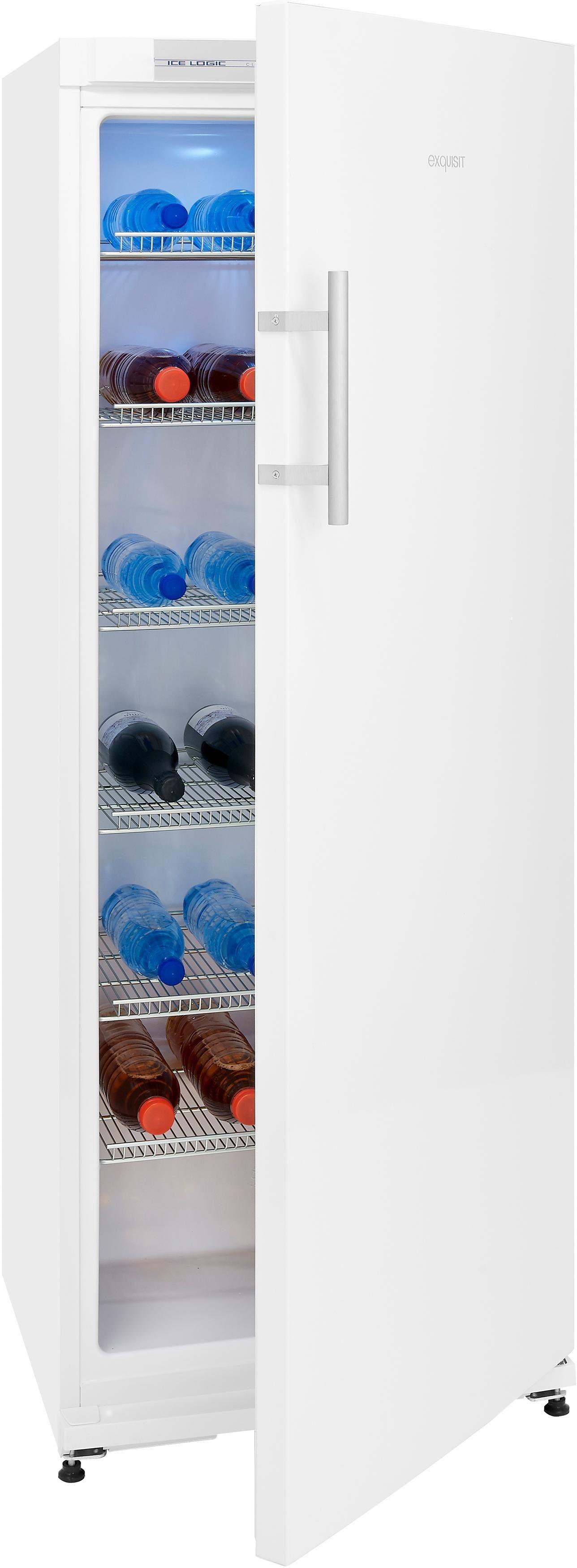 Exquisit Kühlschrank KSC31A+FL, 163 cm hoch, 60 cm breit