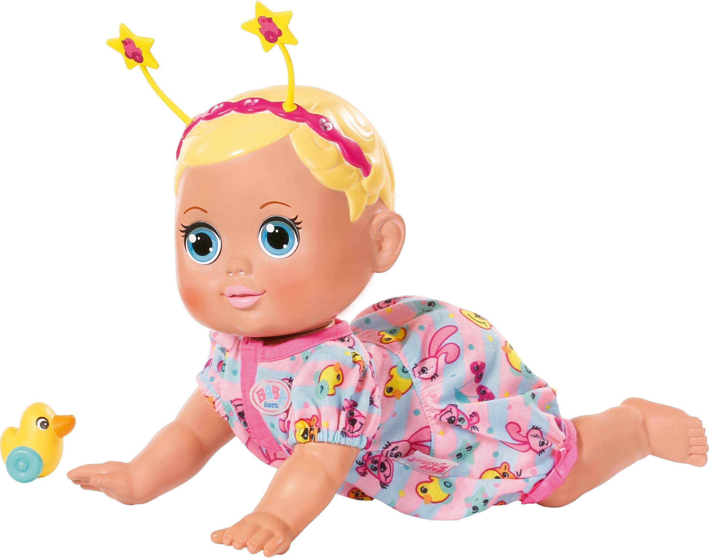 Zapf Creation Interaktive Puppe, »BABY born® Funny Faces Krabbelbaby«
