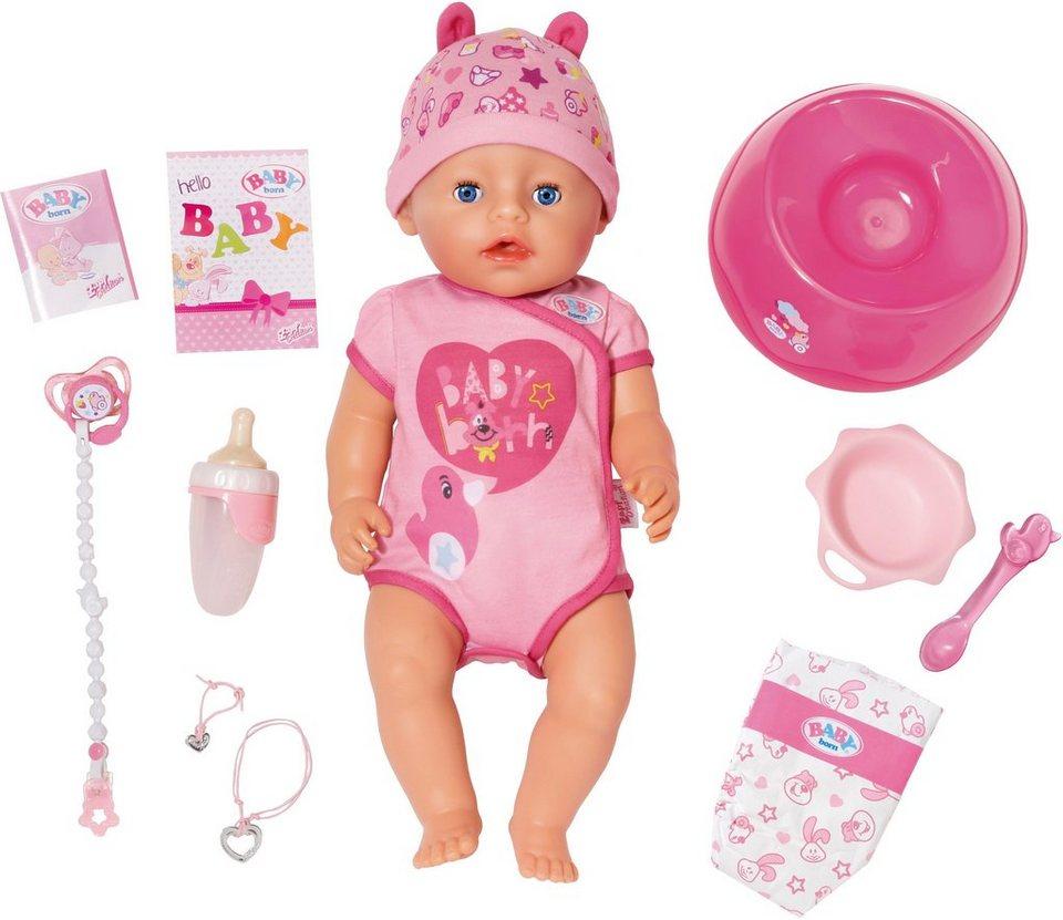 Zapf Creation Interaktive Puppe,  BABY born® Soft Touch Girl  online kaufen