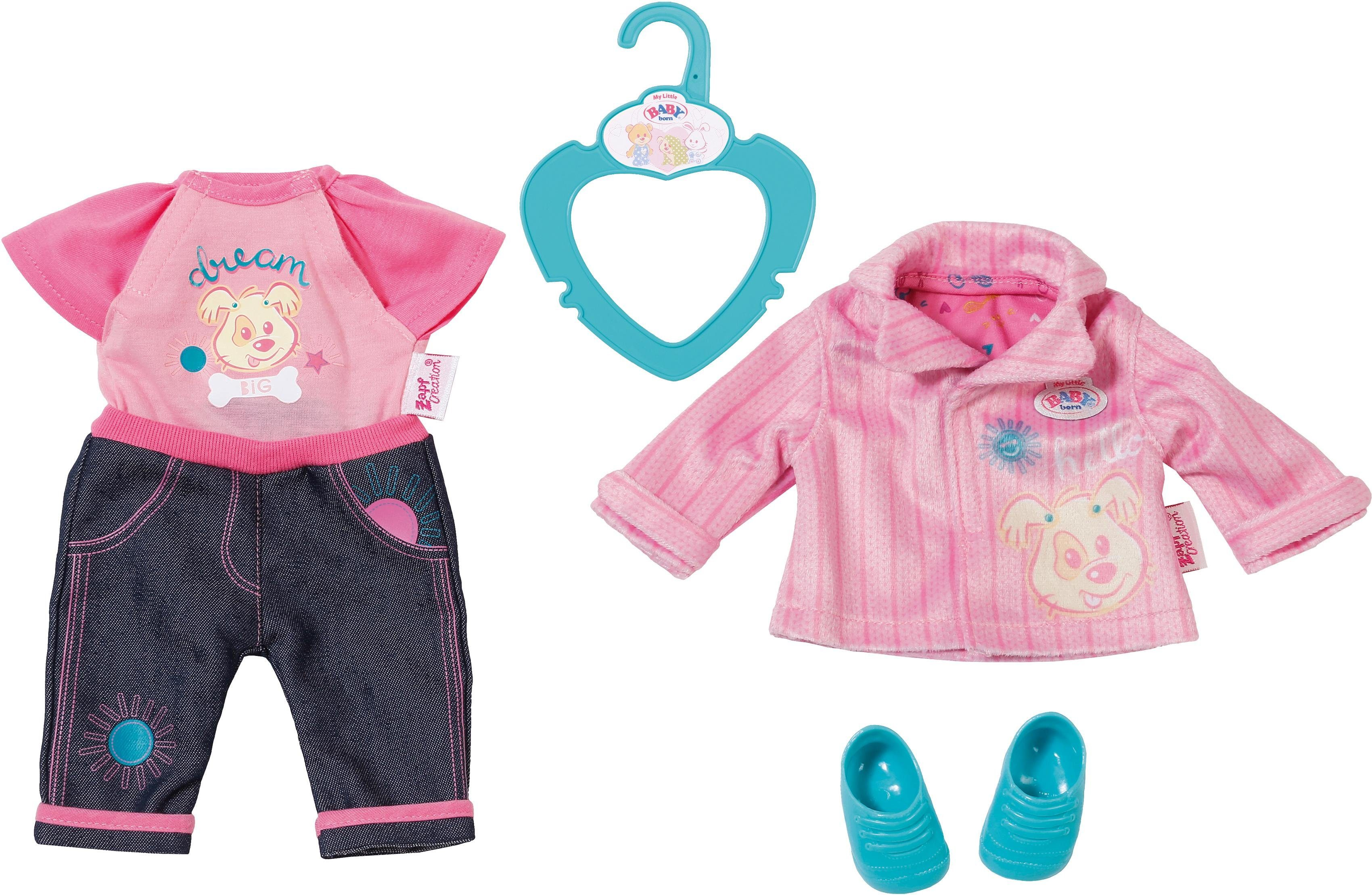 Zapf Creation Puppenkleidung, »My Little BABY born® Kita Outfit«