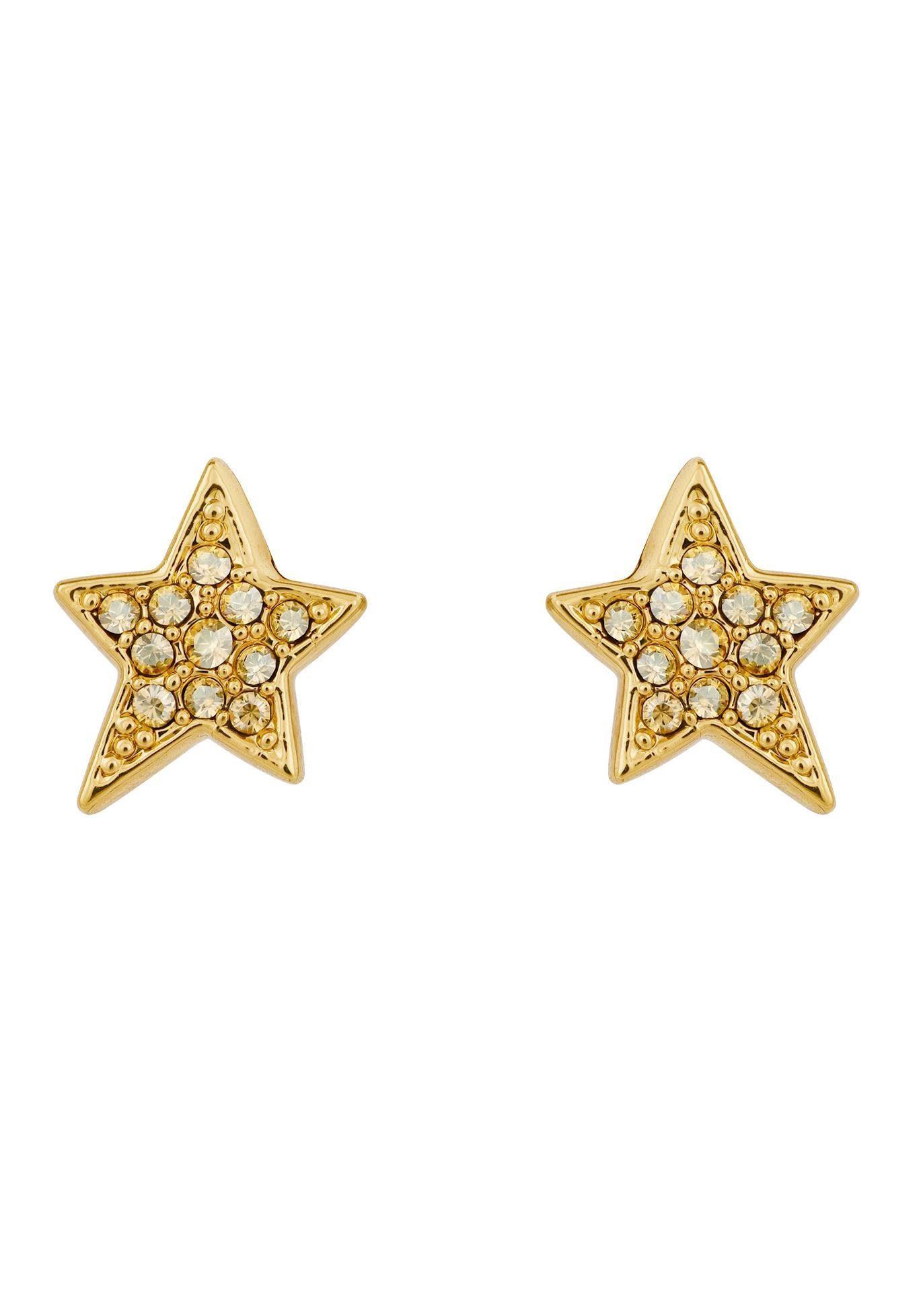 KARL LAGERFELD Paar Ohrstecker »Stars Stern, 5420649« mit Swarovski® Kristallen