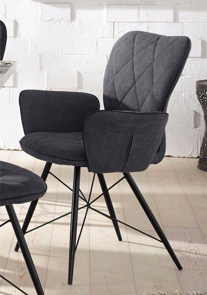 stuhl mit armlehnen viola 2 st ck kaufen otto. Black Bedroom Furniture Sets. Home Design Ideas
