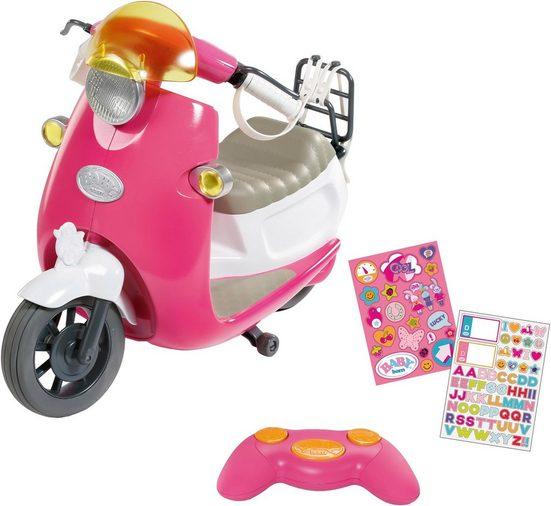 Baby Born Puppen Fahrzeug »City RC Scooter«, zum Fernsteuern