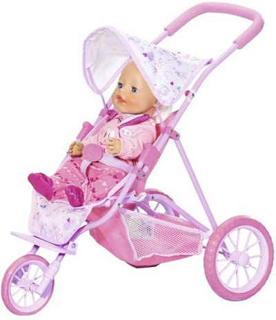 Babypuppen & Zubehör Bayer Puppenwagen Kinderwagen Baby Buggy Baby Jogger Babywagen Puppenbuggy Puppen & Zubehör