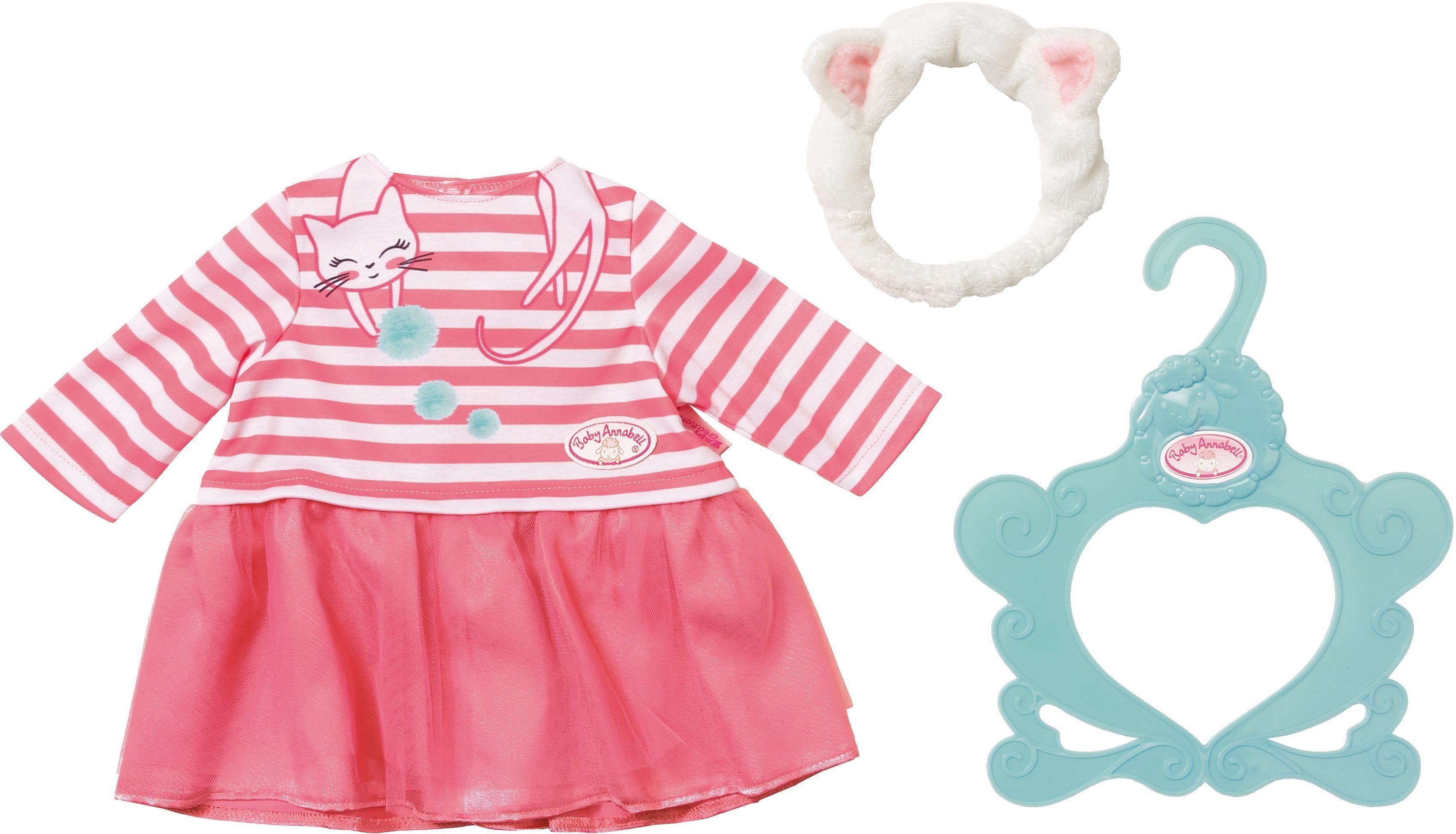 Zapf Creation Puppenbekleidung und -zubehör, »Baby Annabell® Kleid Katzenberger«