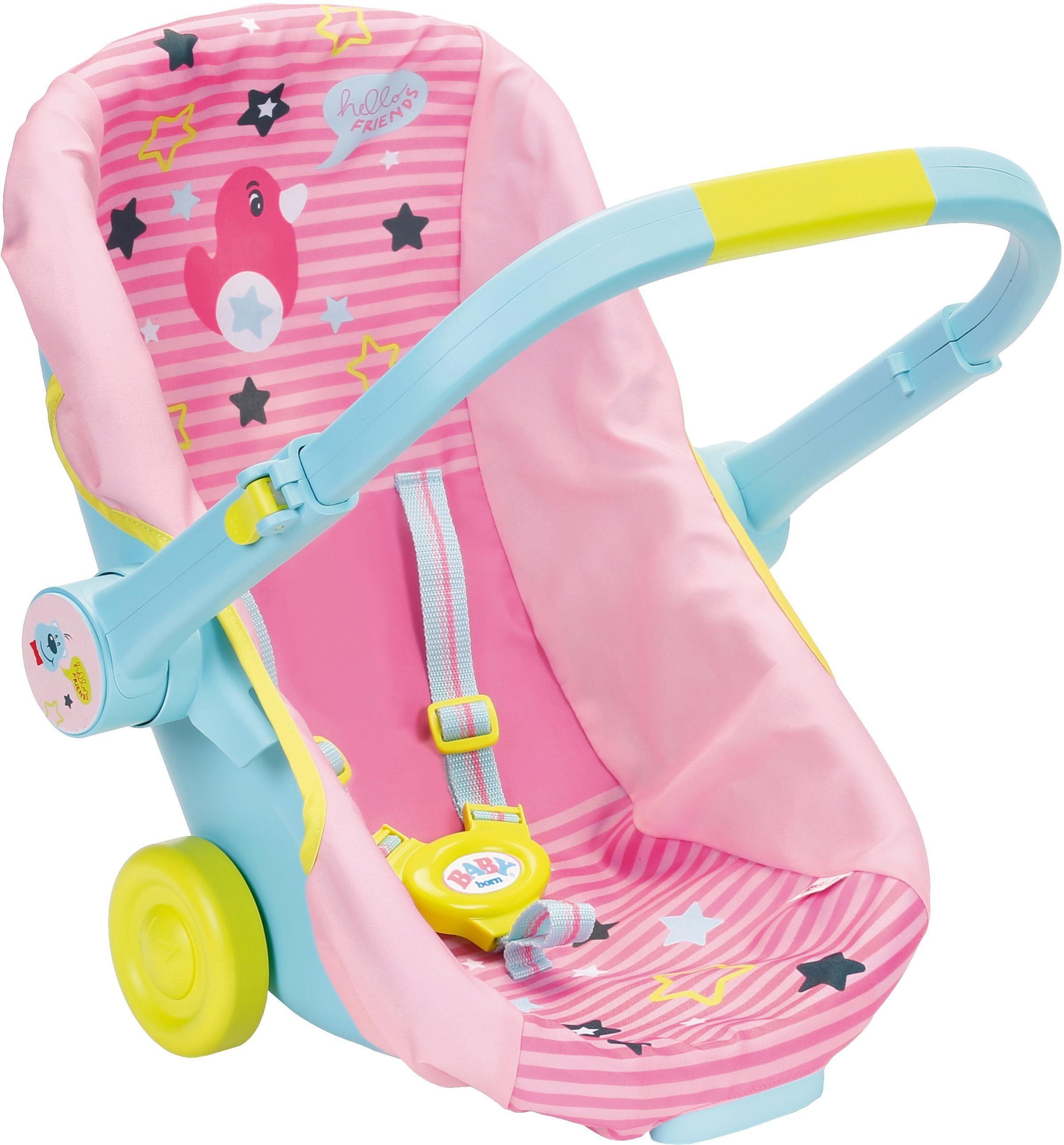 Zapf Creation Puppenzubehör, »BABY born® Schalensitz mit Rädern«