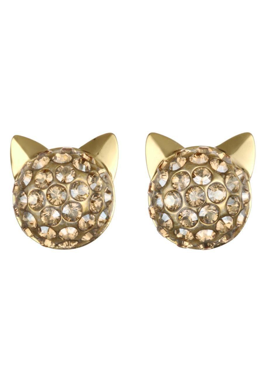 KARL LAGERFELD Paar Ohrstecker »Crystal Choupette, 5378065« mit Swarovski® Kristallen