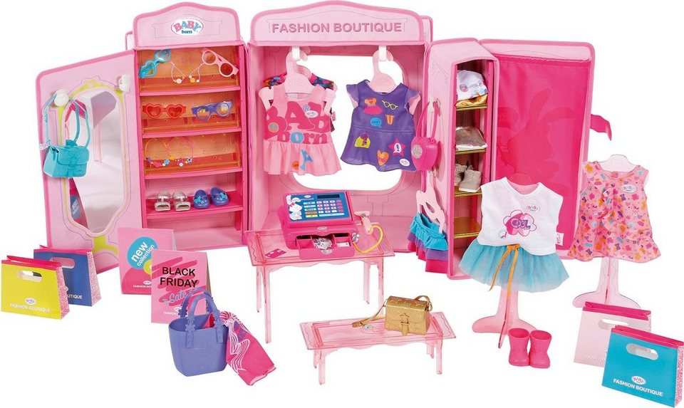 zapf creation spielset baby born boutique fashion shop. Black Bedroom Furniture Sets. Home Design Ideas