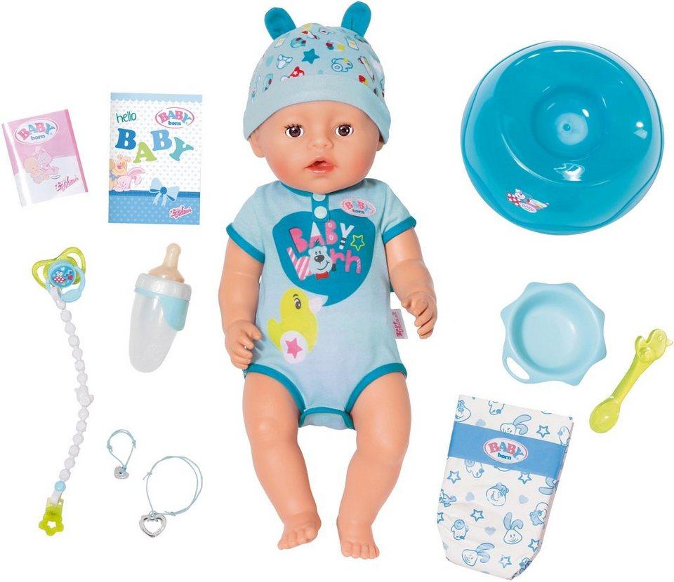 Zapf Creation Interaktive Puppe 187 Baby Born 174 Soft Touch