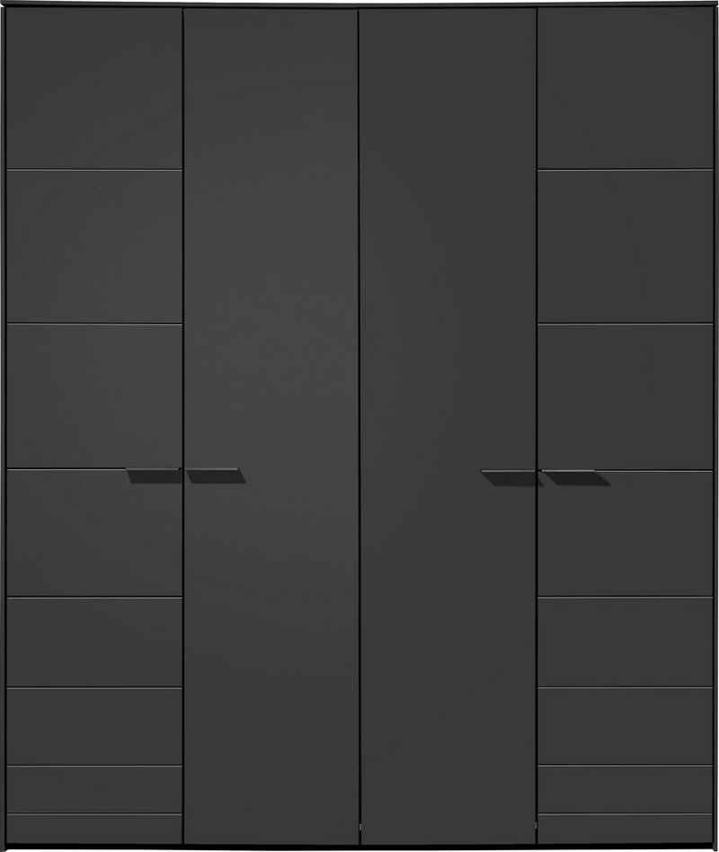 Loddenkemper Drehtürenschrank »Malibu« 4 türig, mit verschiedenen Ausstattungspaketen