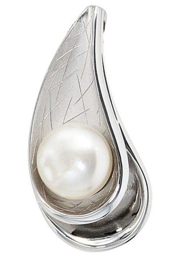 JOBO Perlenanhänger 925 Silber mit einer Süßwasser-Zuchtperle