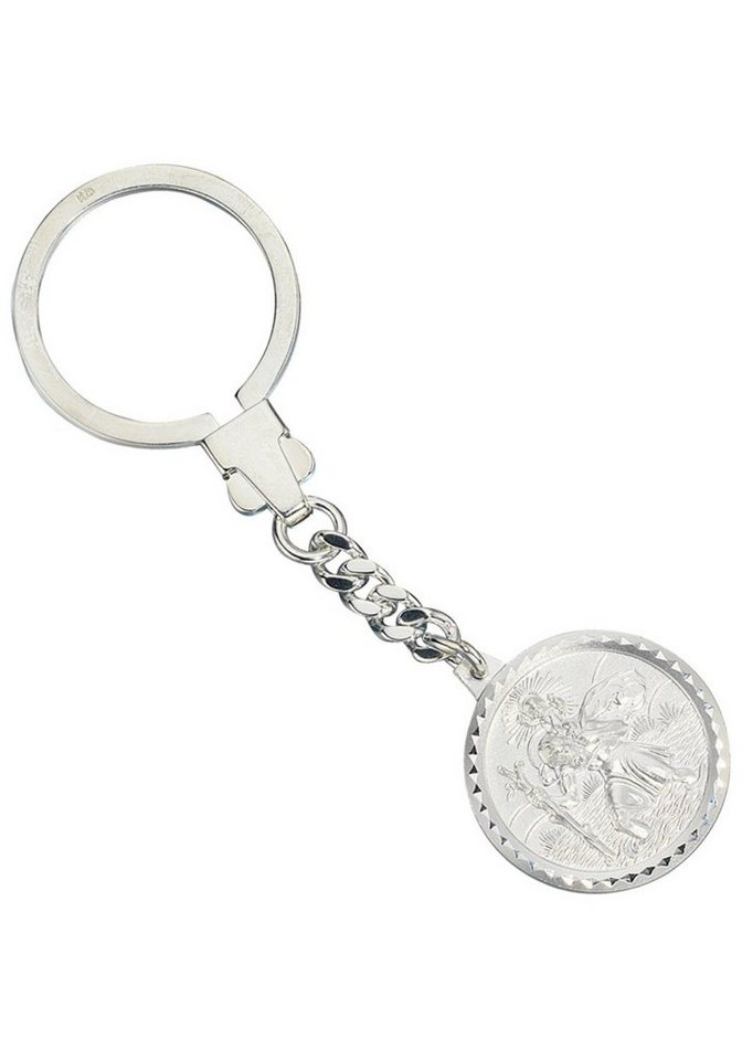 JOBO Schlüsselanhänger »Schutzpatron Christopherus« 925 Silber | Accessoires > Schlüsselanhänger | JOBO