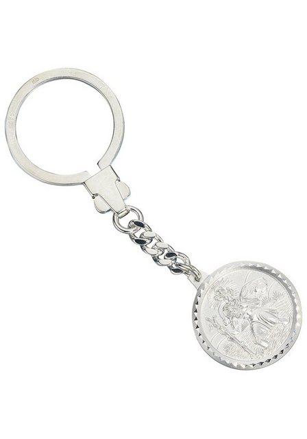 JOBO Schlüsselanhänger »Schutzpatron Christopherus« 925 Silber   Accessoires > Schlüsselanhänger   JOBO