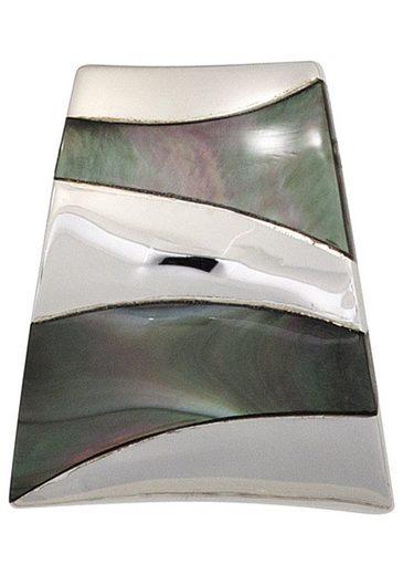 JOBO Kettenanhänger, 925 Silber mit Perlmutt