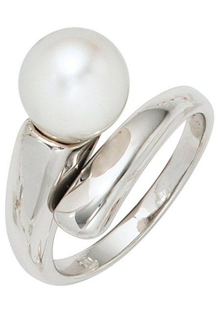 JOBO Perlenring, 925 Silber mit einer Süßwasser-Zuchtperle   Schmuck > Ringe > Perlenringe   Jobo