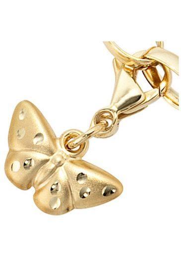 JOBO Charm Schmetterling »Schmetterling«, 333 Gold